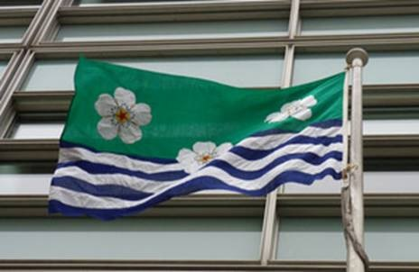 Cumbria Council commissioned flag DCLG 2013