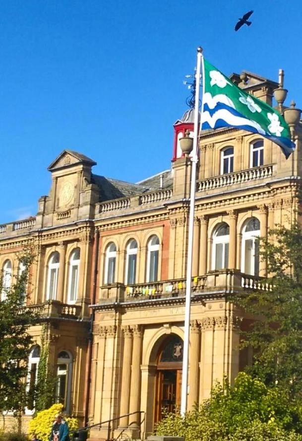 penrith-council-flying-the-county-flag-on-cumberland-day-2015