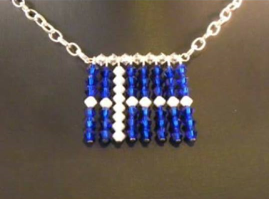 A Shetland flag necklace..png