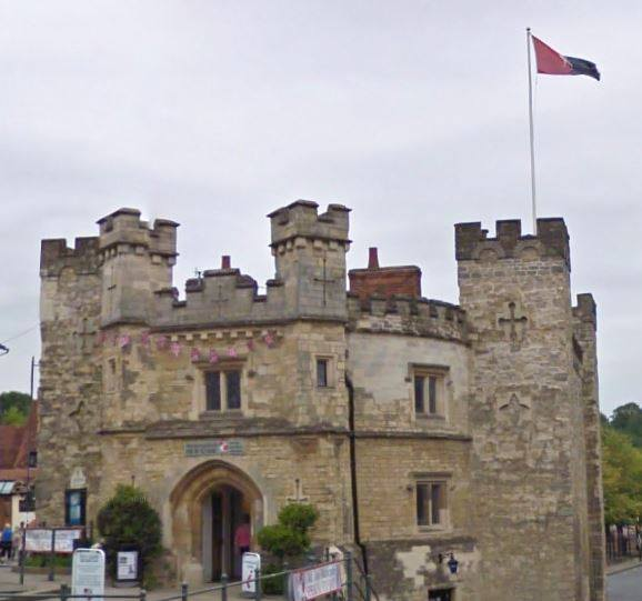 the-flag-of-buckinghamshire-flies-at-buckingham-gaol-and-museum