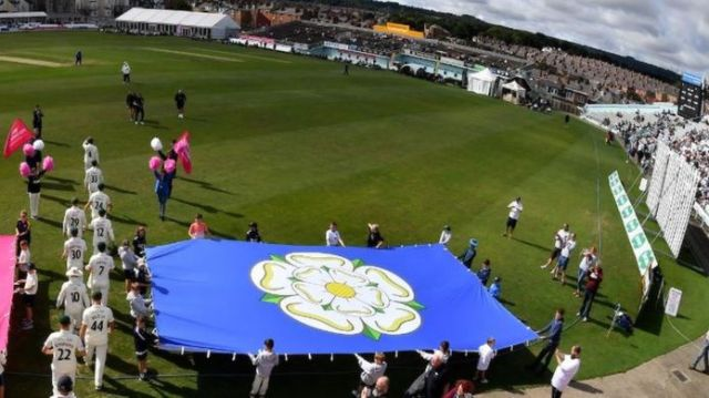World's largest Yorkshire flag unveiled