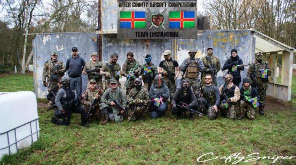 County Airsoft team Lincolnshire.
