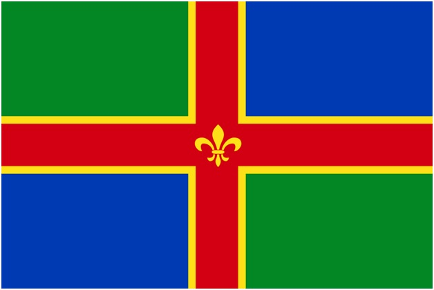 River Gee County Flag