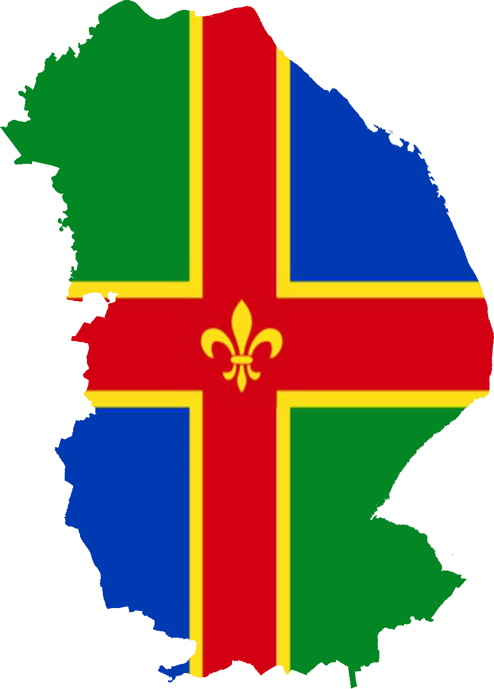 lincolnshire flag british county flags
