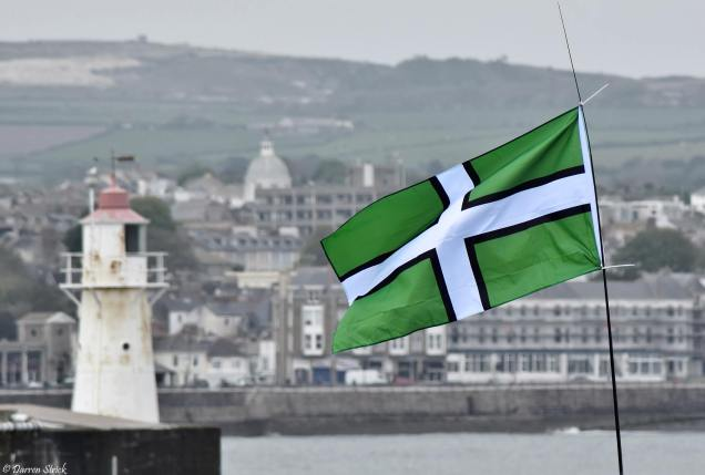 A great image of the Devon flag.