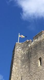 Above Pembroke Castle