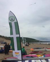 Devon v Cornwall surfing event, Croyde Bay
