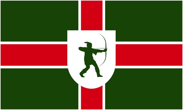 Image result for nottinghamshire flag images