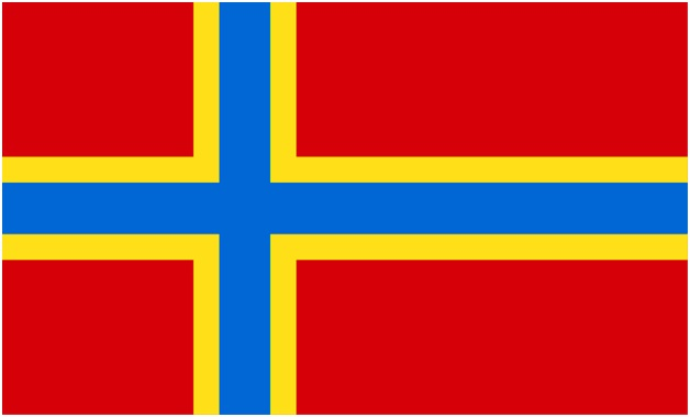 orkney flag county flags