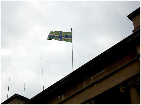 SHIRE HALL FLAG