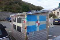 The Pembrokeshire flag in Saint David's from Leigh Cotteril1