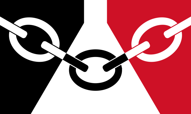 Black County Flag