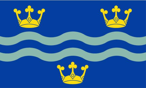Cambridgeshire flag