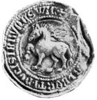 seal of duke Albrecht
