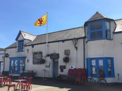 The Somerset flag at three locations in Watchet from Brady Ells.3