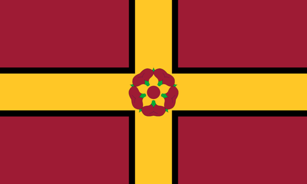COUNTY FLAG OF NORTHAMPTONSHIRE (2)