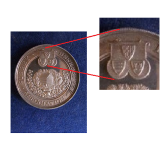 BEES MEDAL (2)