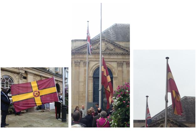 FLAG RAISING (2)