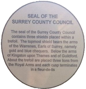 Surrey CC Seal explanation