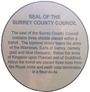 Surrey CC Seal explanation