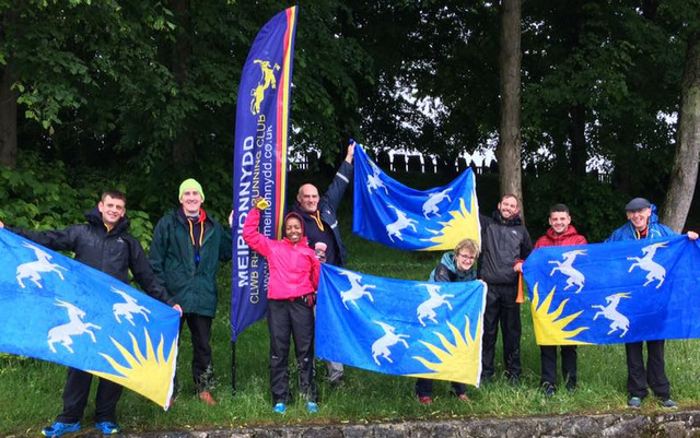 castles relay support team caernarfon 2017