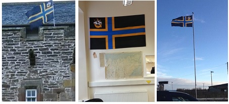 CAITHNESS FLAGS IN USE (2)