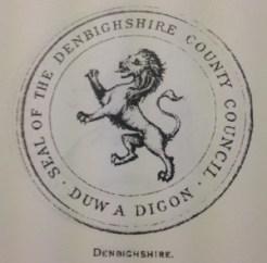 Denbighshire-black-lion-rampant-seal-300x296