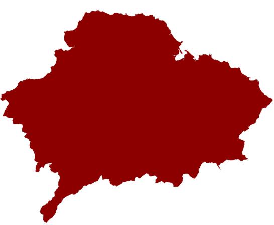 East Lothian map