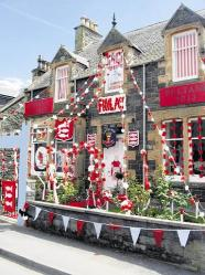 The decorated houses competition attracted a lot of entries