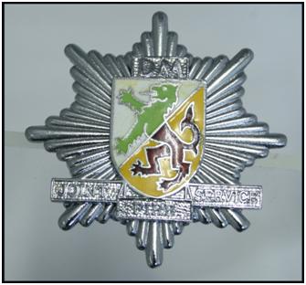 police badge monty