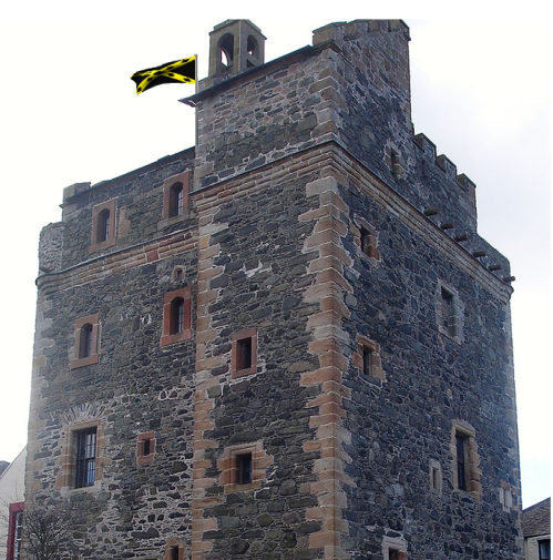 WIGTOWNSHIRE castle