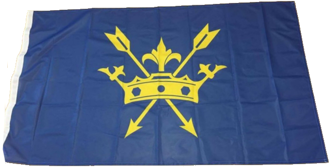 The flag Of Suffolk