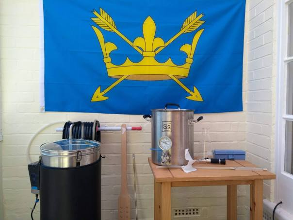 Southfolk Brewing Getting ready for the Suffolk Day brew ( June 21st )