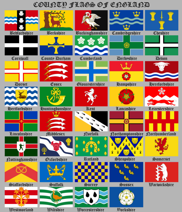 County Flags Of England Chart.png