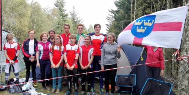 East Anglian Junior Orienteering Squad at championships in North East Scotland. Thanks to Steve Partridge